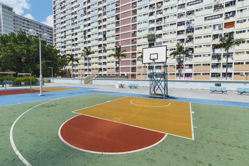 Propriet? pubblica nella citt? di Hong Kong fotografia stock libera da diritti