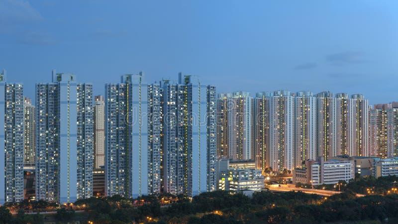 Propriet? pubblica nella citt? di Hong Kong fotografie stock