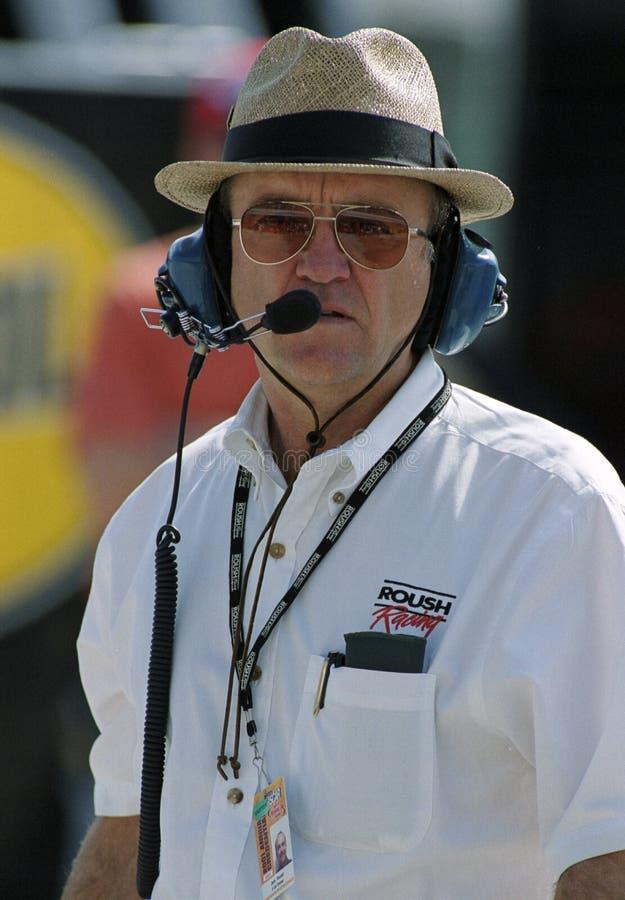 Propriet?rio Jack Roush de NASCAR imagem de stock