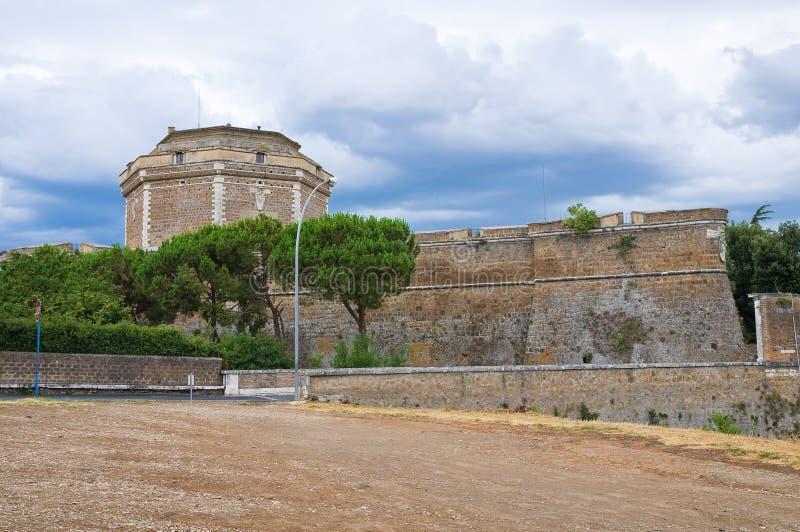 Proprio forte Sangallo. Civita Castellana. Il Lazio. L'Italia. fotografie stock