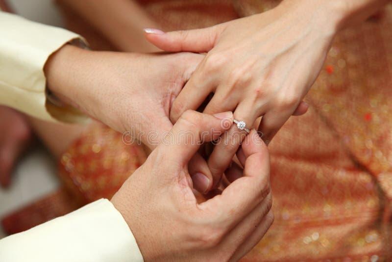 Propuesta de matrimonio foto de archivo