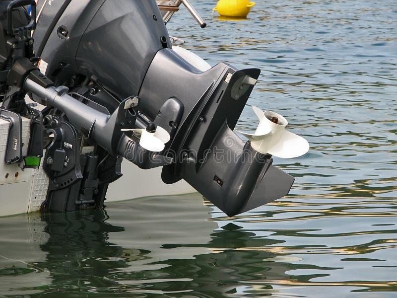 Propulseur de bateau images libres de droits