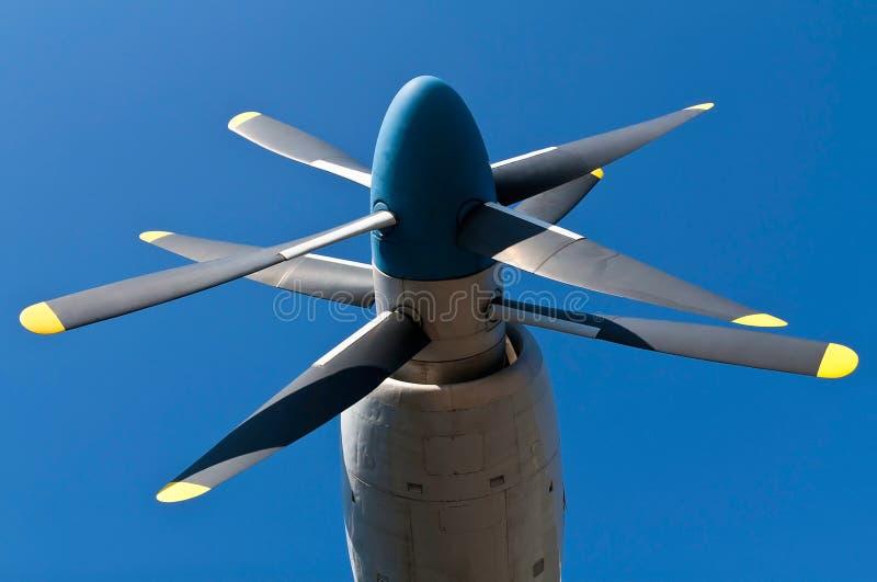 Propulsor de los aviones imágenes de archivo libres de regalías