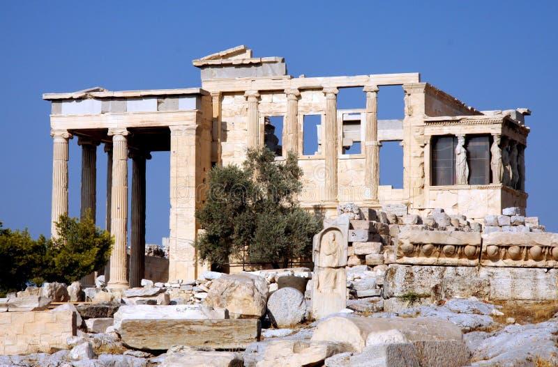 Propylia - ακρόπολη - Αθήνα στοκ εικόνα