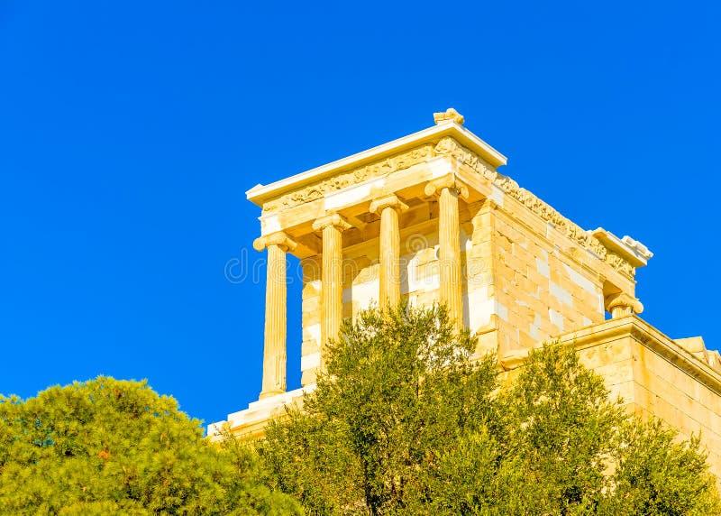 Propylia της ακρόπολη στοκ φωτογραφία με δικαίωμα ελεύθερης χρήσης