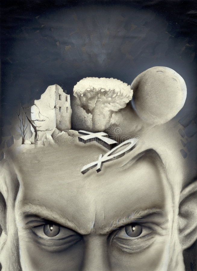 proroctwo royalty ilustracja