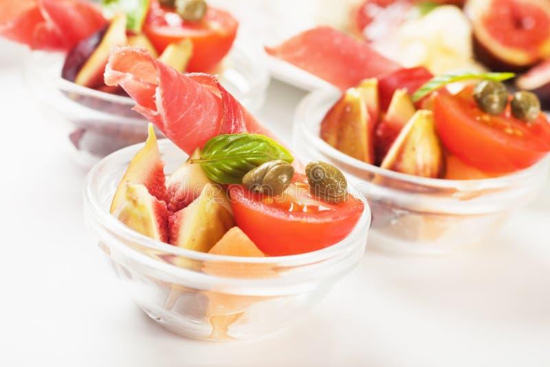 Prosciutto Appetizer Royalty Free Stock Photos
