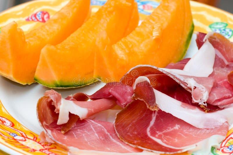 Download Prosciutto Di Parma Ham And Melon Stock Photo - Image of meat, seasoning: 5873432