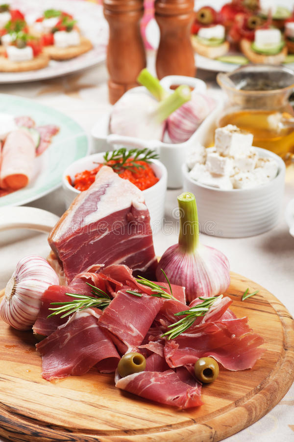 Prosciutto Di Parma Royalty Free Stock Photo