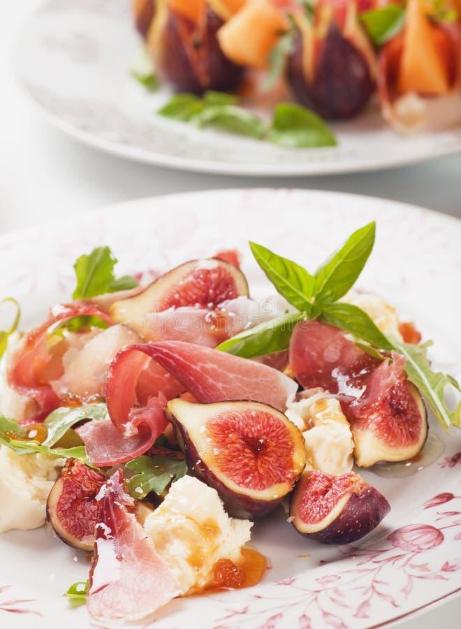 Download Prosciutto di Parma salad stock image. Image of pork - 34658927