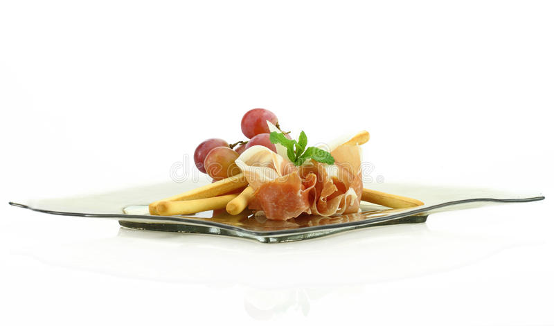Download Prosciutto With Grissini Stock Photos - Image: 24185823