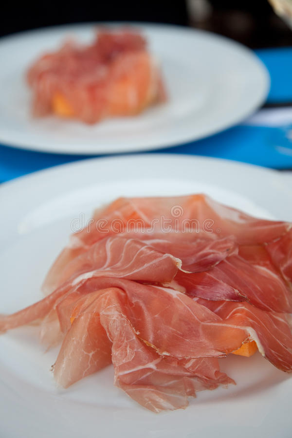 Download Prosciutto with melon stock image. Image of meal, starter - 15028415