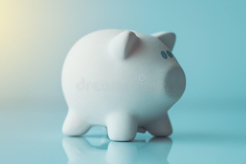 Prosiątka Monety Bank zdjęcie stock