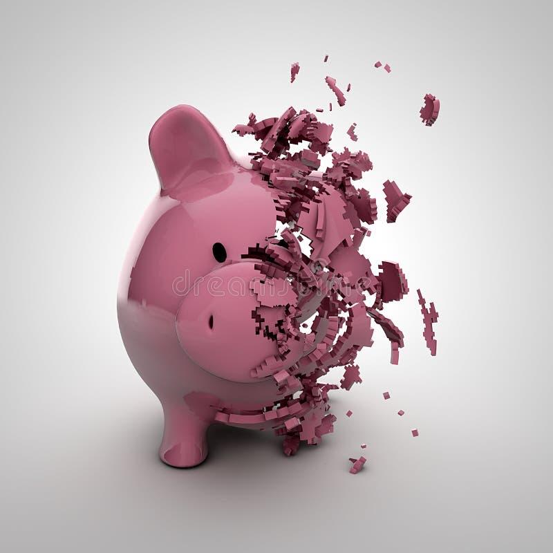 Download Prosiątko bank ilustracji. Obraz złożonej z finanse, świnia - 27142474