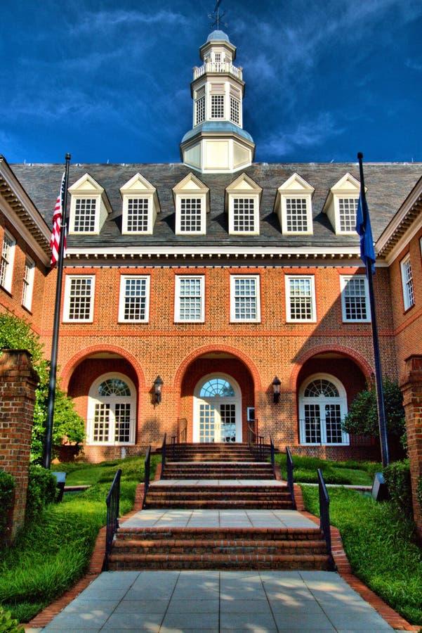 Prospect Hill Greenville South Carolina royalty free stock photography