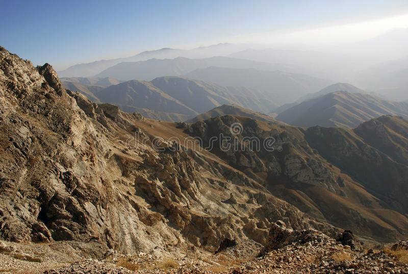 The prospect of the Tien Shan mountains royalty free stock image