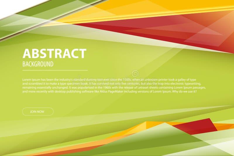 Prospecto moderno geométrico de la compañía del diseño de negocio del fondo del extracto, aviador, plantilla de la cubierta Azul  libre illustration