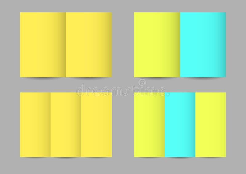 Prospectos de papel del vector ilustración del vector