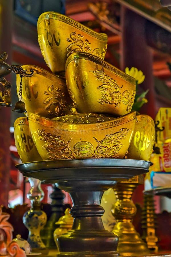 Prosperities символа миллиарда золота китайские и богатство, ri талисмана стоковая фотография rf
