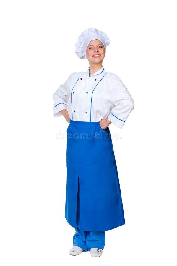 Free Prosperous Female Cook Royalty Free Stock Photo - 27567115