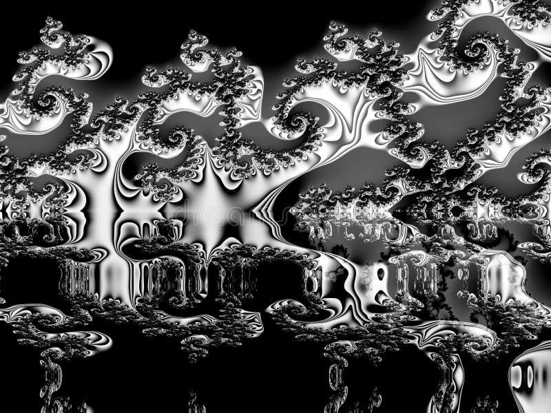Download Prospetti terribili illustrazione di stock. Illustrazione di fractal - 7324358