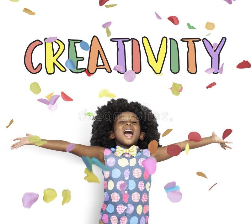 Prospettiva di abilità di ispirazione di immaginazione di idee di creatività immagine stock libera da diritti