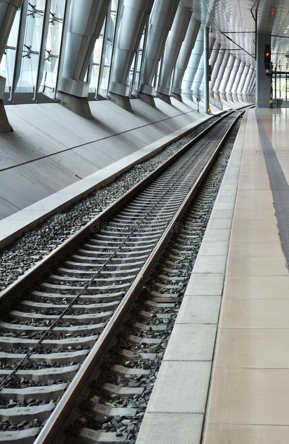 Prospettiva ferroviaria immagini stock