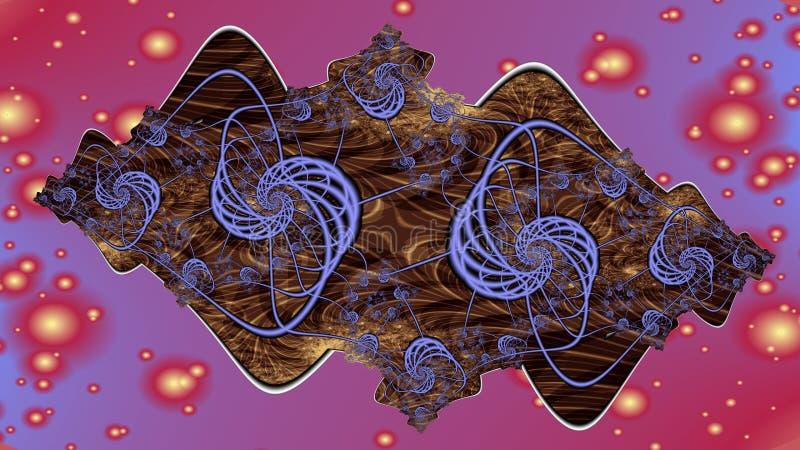 Prospettiva galattica, a grande schermo illustrazione vettoriale