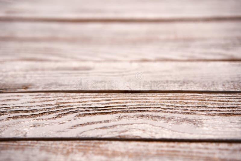 Prospettiva orizzontale di struttura approssimativa di legno delle plance fotografia stock libera da diritti