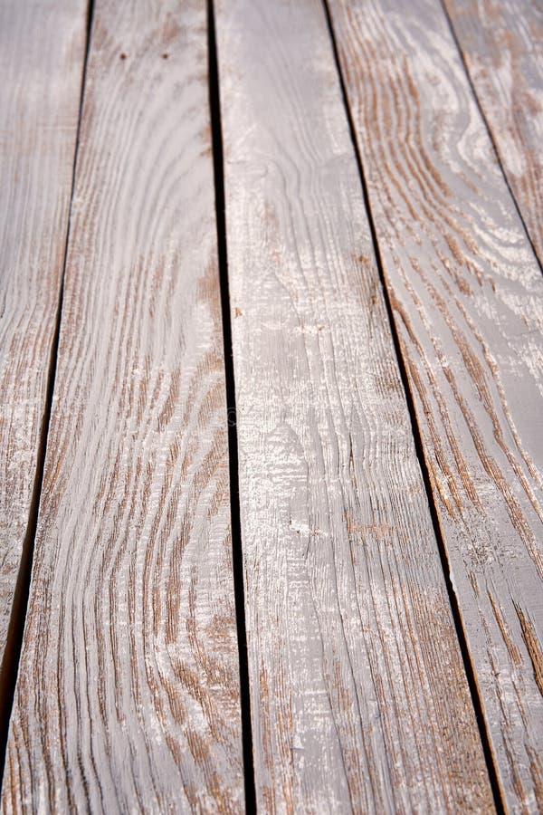 Prospettiva verticale di struttura approssimativa di legno delle plance fotografie stock libere da diritti