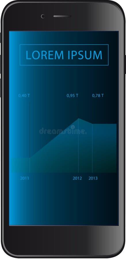 Prossima generazione Smartphone fotografia stock