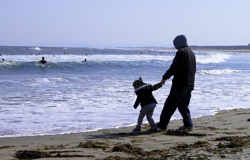 Prossimo Sul Papà?. Fotografia Stock Libera da Diritti
