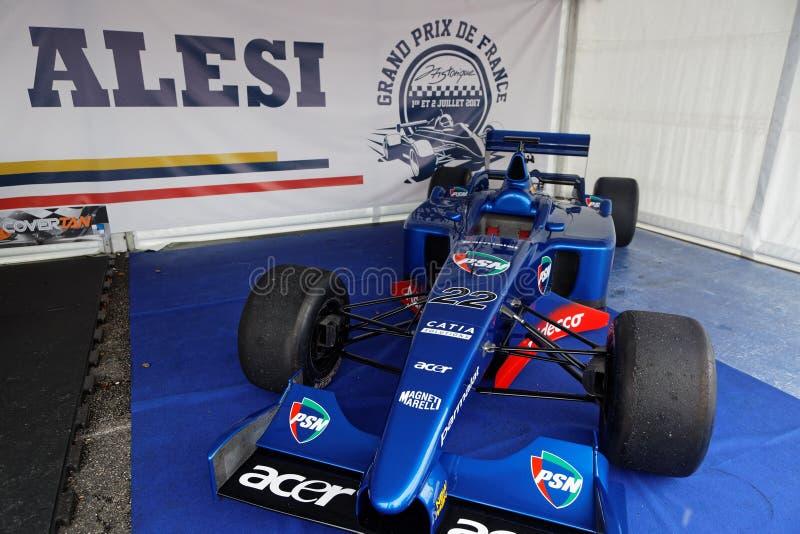 Prost Grand Prix F1 en la exposición imagenes de archivo