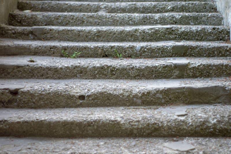 Prosta życie fotografia stary kamienny schody obrazy royalty free