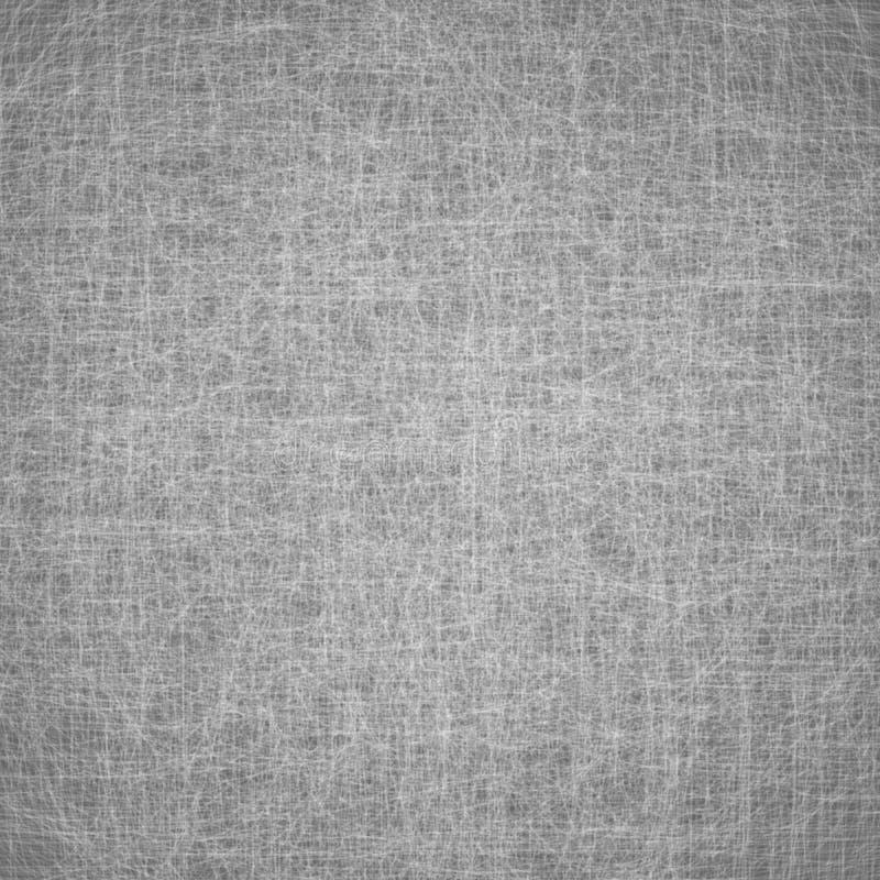 Prosta abstrakcjonistyczna tło wektoru tekstura Chaotyczne linie na szarości powierzchni royalty ilustracja