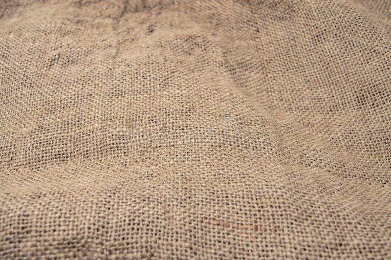 Prostacka tkactwo tkanina dla torby tekstury w górę zdjęcie stock