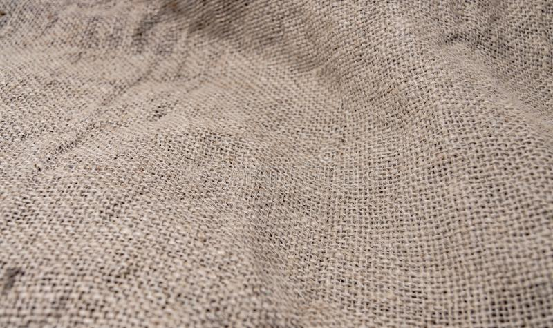 Prostacka tkactwo tkanina dla torby tekstury w górę zdjęcie royalty free