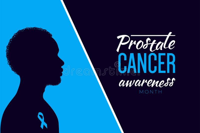 Prostate Cancer month concept royalty free stock photography