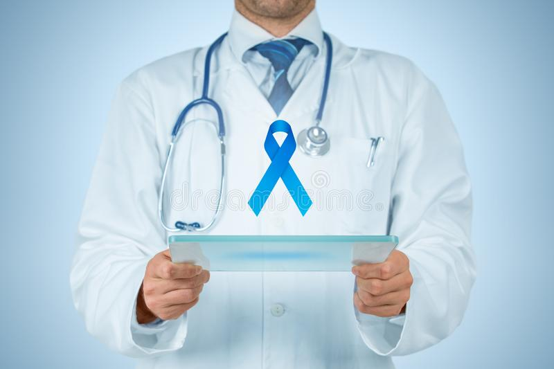 Prostate cancer prevention stock image