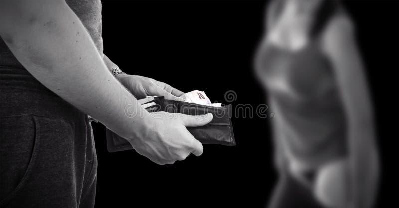 Prostitution royaltyfria bilder