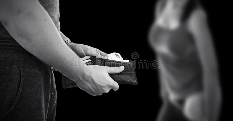 Prostitution royalty free stock images