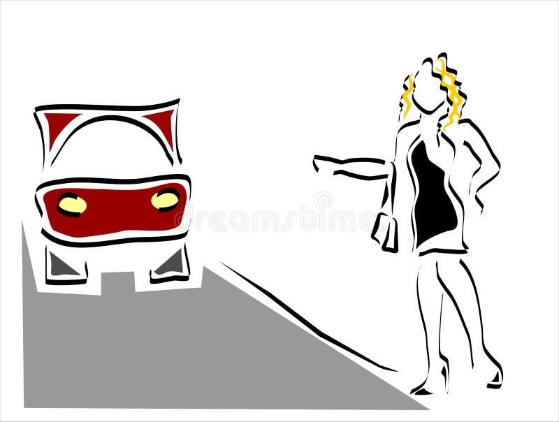 Prostituzione royalty illustrazione gratis