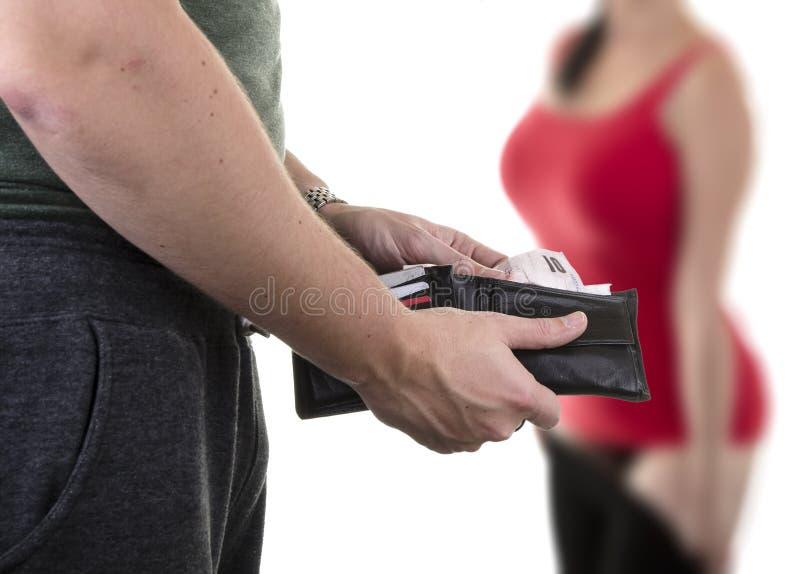 Prostituzione fotografia stock libera da diritti