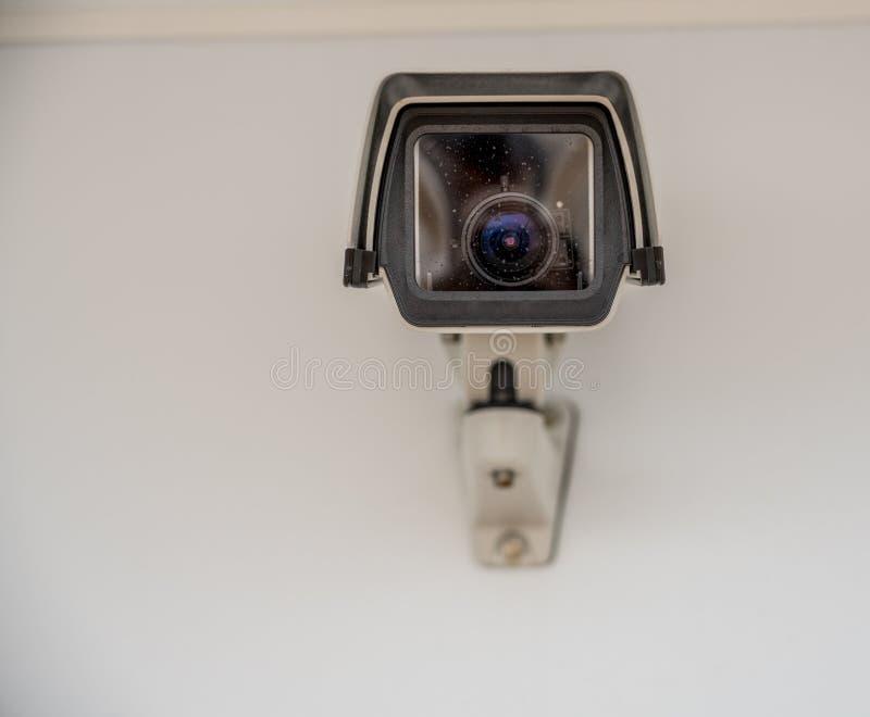 Prosto na widoku nowożytna inwigilacji kamera obrazy royalty free