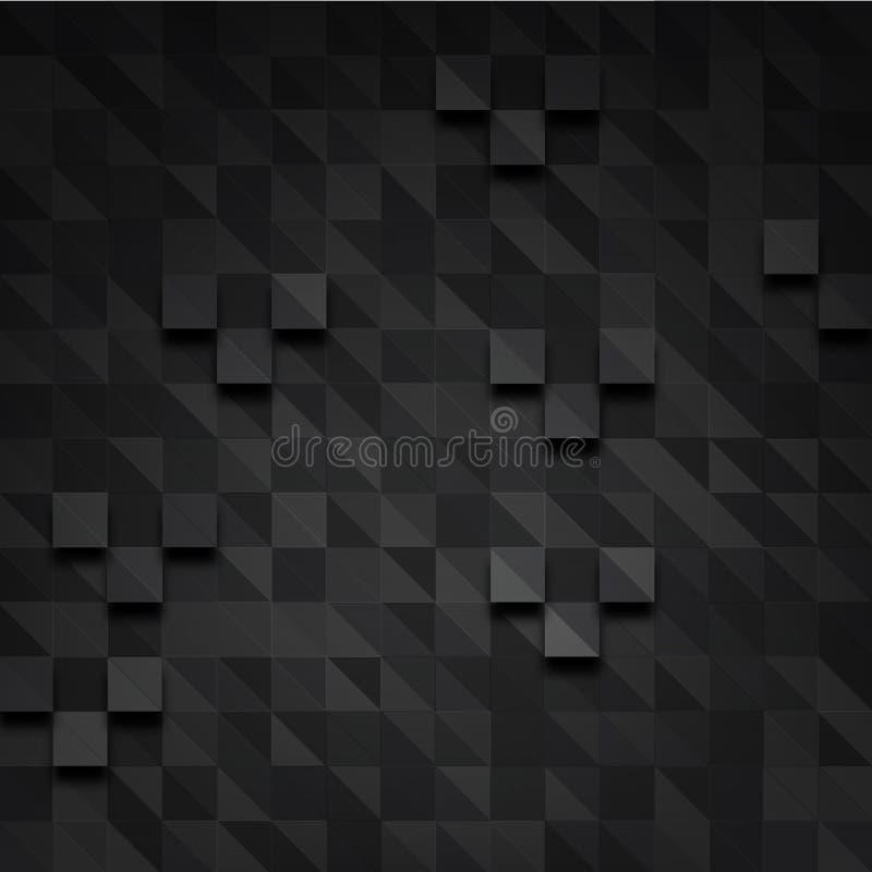 Prostokąta zmroku piksel royalty ilustracja