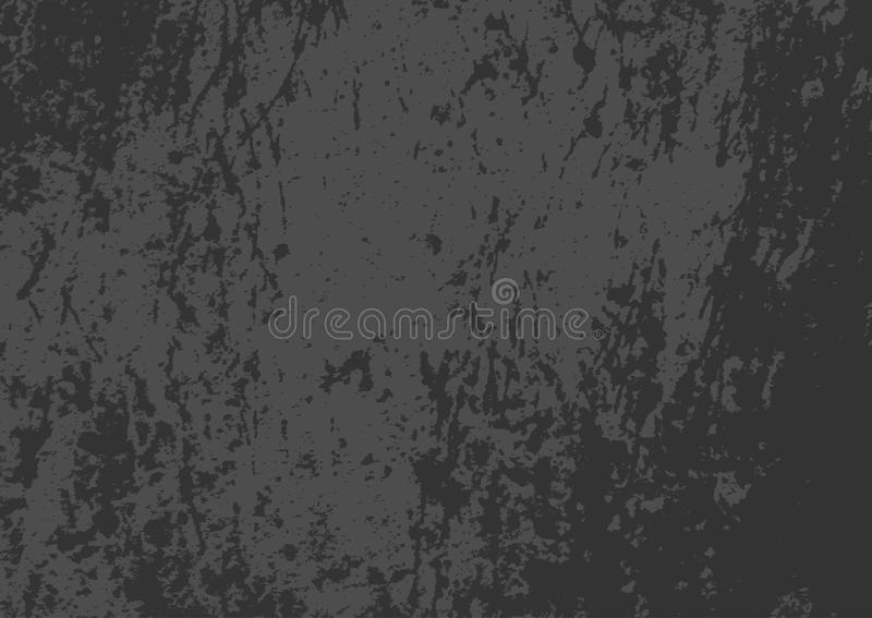 Prostokątna grunge tekstura Horyzontalny porysowany ciemny tło royalty ilustracja