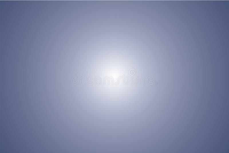 Prostokątny gradientowy tło Zmrok - błękitny kolor Wektorowy stubarwny zamazany tło ilustracji