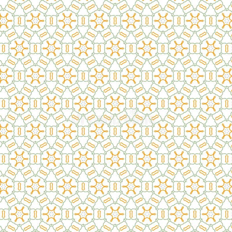 Prostoty szkockiej kraty Bezszwowego remisu siatki lampasa wzoru Kwiecisty Abstrakcjonistyczny Kolorowy tło ilustracji