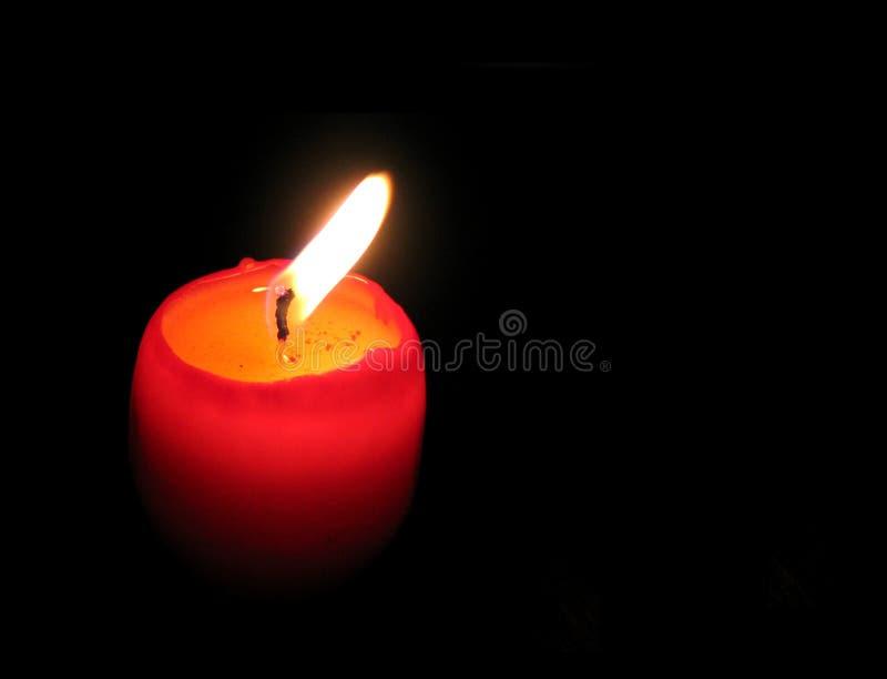 Prosty światło świece. Obraz Stock