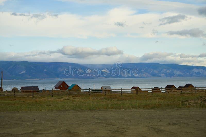 Prosty życie na Jeziornym Baikal fotografia stock